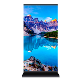 Светодиодный уличный пилон 960x1600мм, шаг пикселя 4мм — фото 1