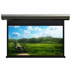 Проекционный настенный экран Lumien Cinema Control LCC-100107 с электроприводом, 185x303см — фото 1