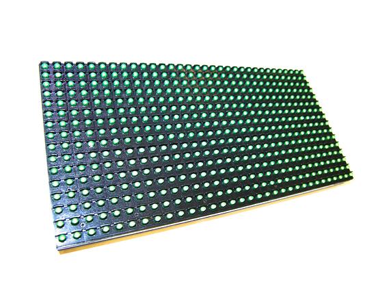 Светодиодный модуль P10, 320x160/32x16, уличный, зелёный, Meiyad — фото 1