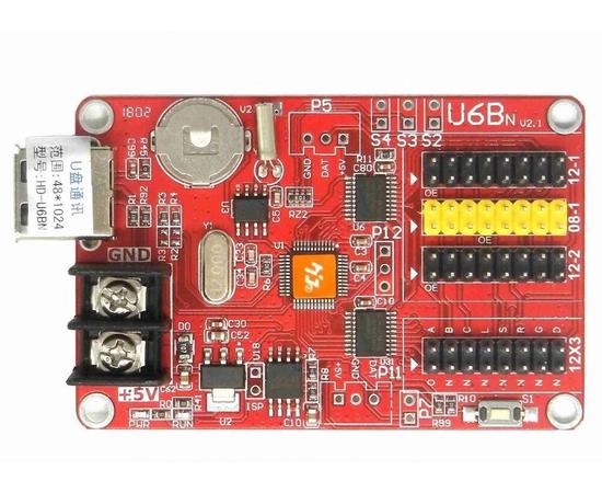 Контроллер HD-U6Bn для бегущей строки — фото 1