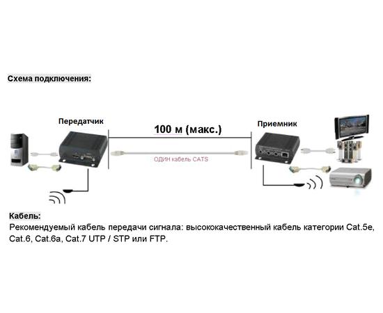 Приемник+Передатчик AV-BOX 2TP-100RT-3D — фото 6