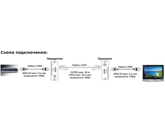 Приемник+Передатчик AV-BOX 2TP-45RT — фото 3