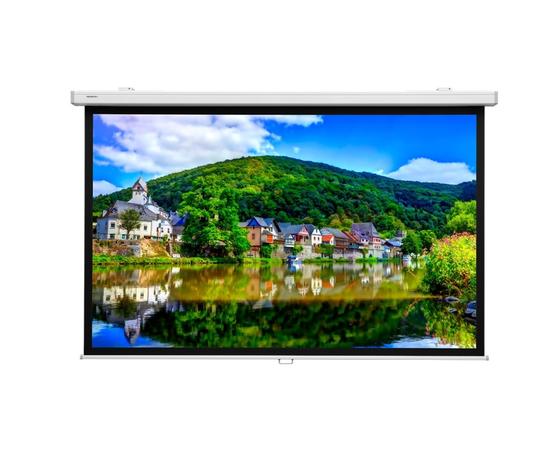 Проекционный настенный экран Lumien Master Picture LMP-100116CSR, 191x183см — фото 1