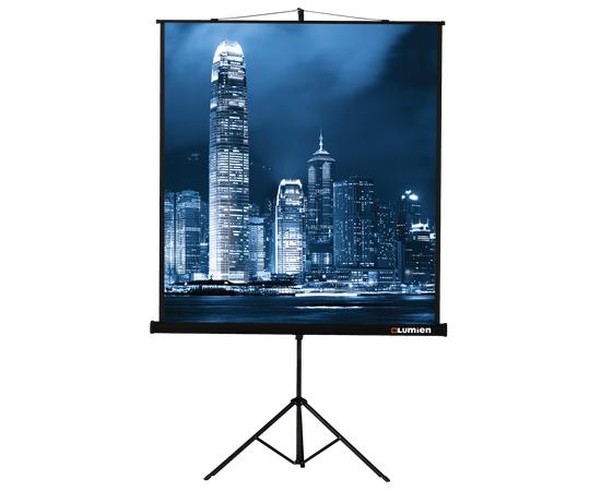 Проекционный экран на штативе Lumien Master View LMV-100105, 244x244см — фото 1
