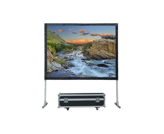 Проекционный экран мобильный Lumien Master Fold LMF-100135, 361x628см — фото 1