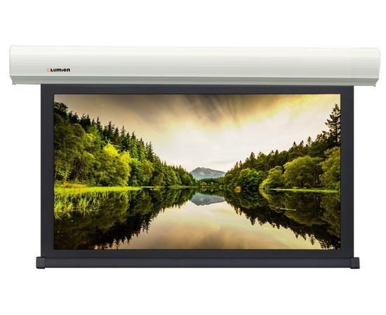 Проекционный настенный экран Lumien Master Business Control LMBC-100208 с электроприводом, 259x333см — фото 1