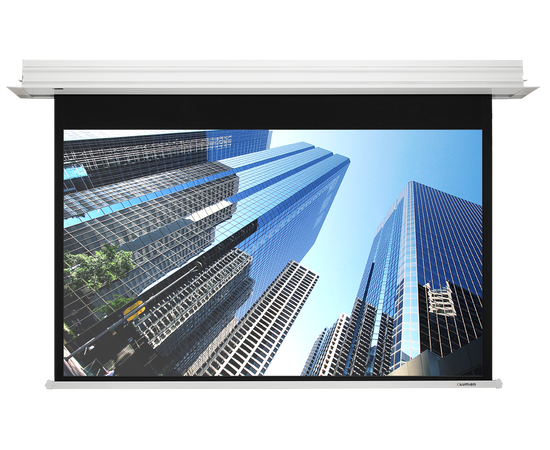 Встраиваемый экран Lumien Master Recessed Control LMRC-100109 с электроприводом, 255x498см — фото 1