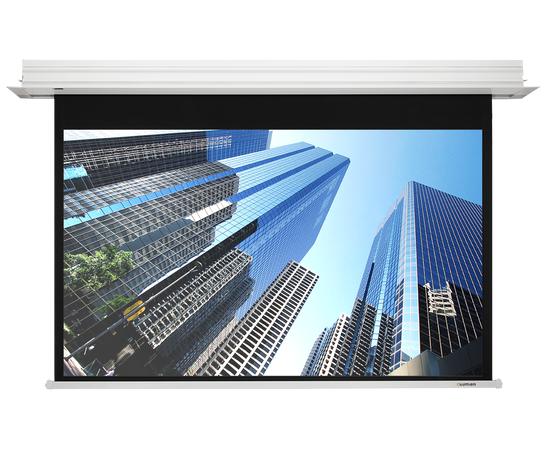 Встраиваемый экран Lumien Master Recessed Control LMRC-100208 с электроприводом, 224x442.5см — фото 1