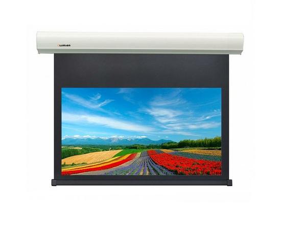 Проекционный настенный экран Lumien Cinema Control LCC-100115 с электроприводом, 187x305см — фото 1