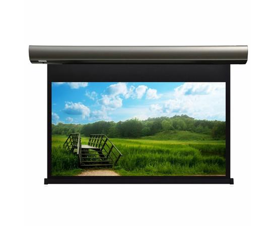 Проекционный настенный экран Lumien Cinema Control LCC-100108 с электроприводом, 214x360см — фото 1